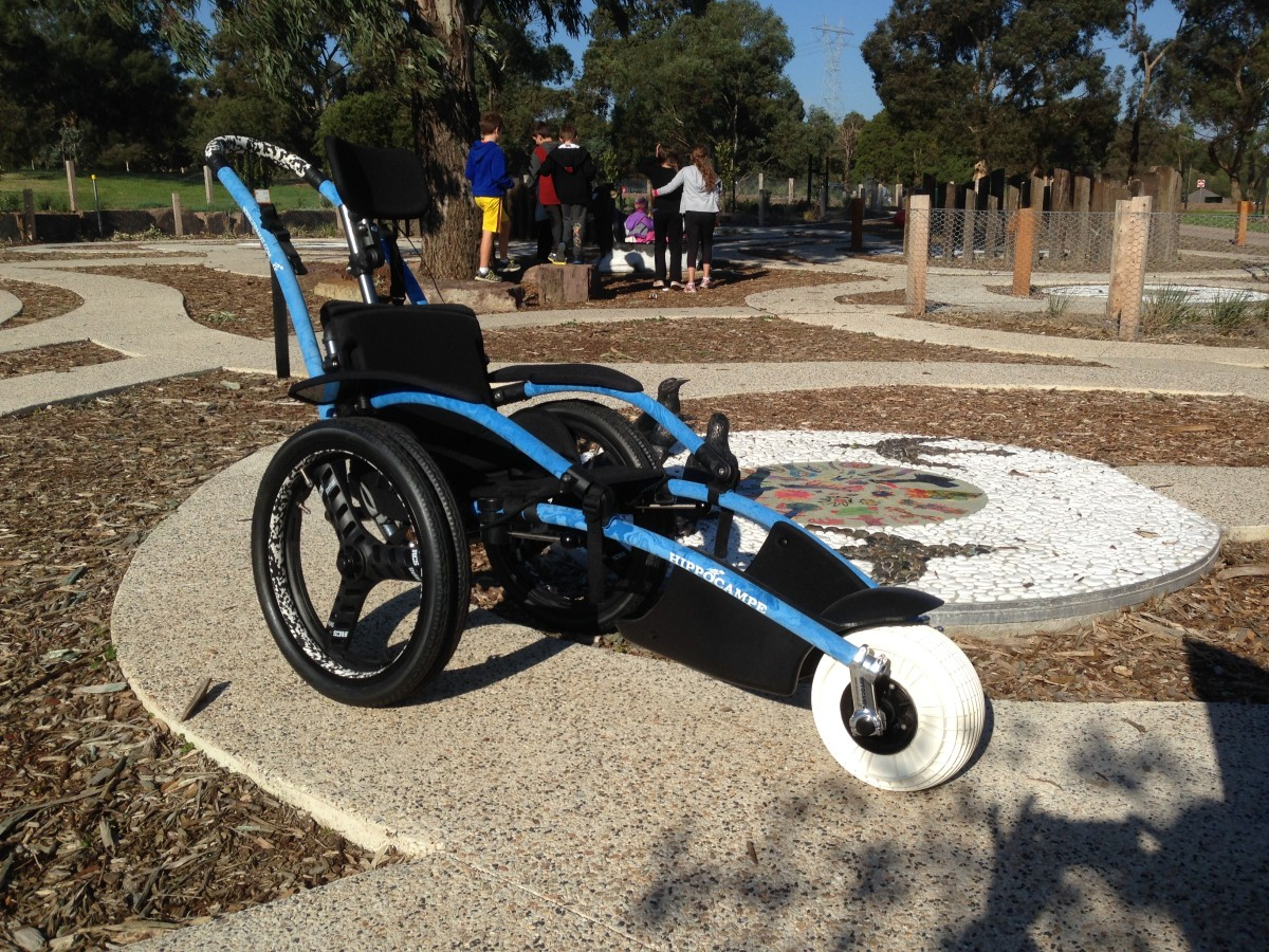 Brimbank Park wheelchair med res